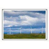 Wind turbines at Pincher Creek - Banner