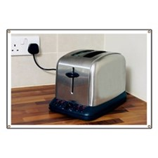 Electric toaster - Banner