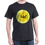 Fourty Two 42 Modern Number T-Shirt