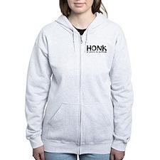 Honk if youre on furlough Zip Hoodie