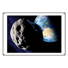 Near-Earth asteroid - Banner
