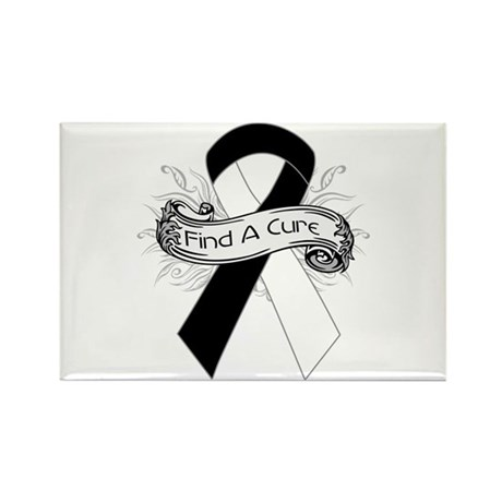 Carcinoid Cancer Find A Cure Rectangle Magnet