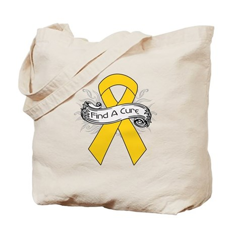 Childhood Cancer Find A Cure Tote Bag