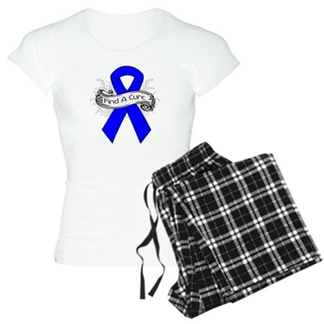 Colon Cancer Find A Cure Women's Light Pajamas