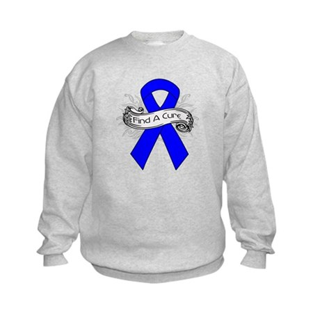 Colon Cancer Find A Cure Kids Sweatshirt