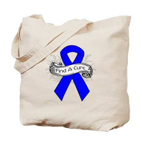 Colon Cancer Find A Cure Tote Bag