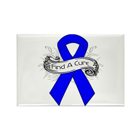 Colon Cancer Find A Cure Rectangle Magnet