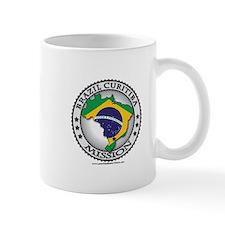 Brazil Curitiba LDS Mission Flag Cutout Map 1 Mug