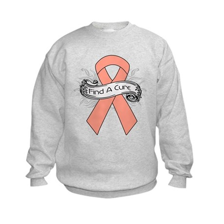 Endometrial Cancer Find A Cure Kids Sweatshirt
