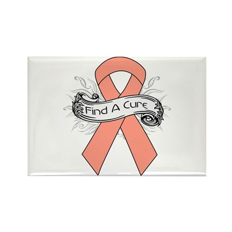 Endometrial Cancer Find A Cure Rectangle Magnet