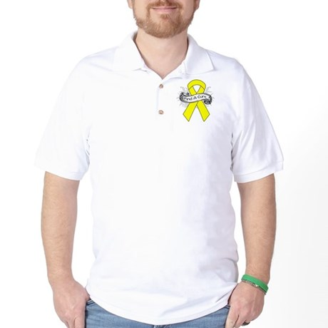 Ewings Sarcoma Find A Cure Golf Shirt