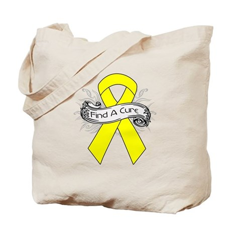 Ewings Sarcoma Find A Cure Tote Bag