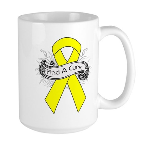 Ewings Sarcoma Find A Cure Large Mug
