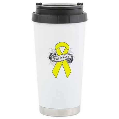 Ewings Sarcoma Find A Cure Ceramic Travel Mug