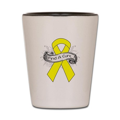 Ewings Sarcoma Find A Cure Shot Glass