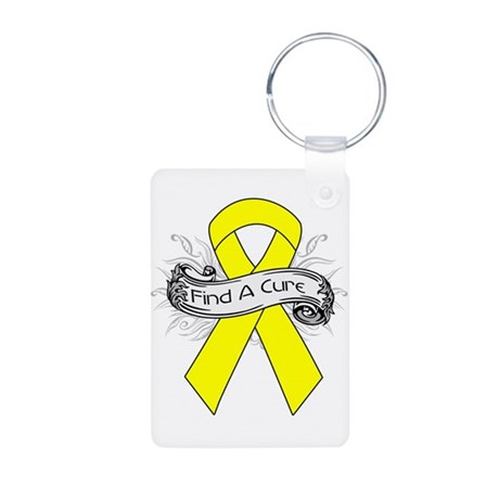 Ewings Sarcoma Find A Cure Aluminum Photo Keychain