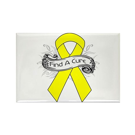 Ewings Sarcoma Find A Cure Rectangle Magnet