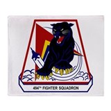 494th FS Throw Blanket