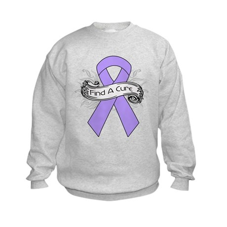 General Cancer Find A Cure Kids Sweatshirt