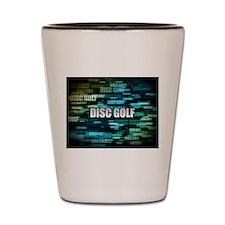 Disc Golf Shot Glass