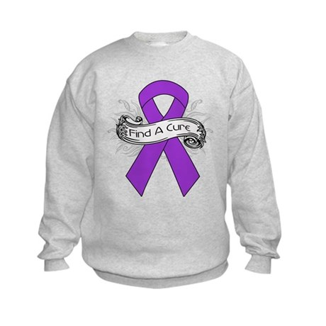 GIST Cancer Find A Cure Kids Sweatshirt