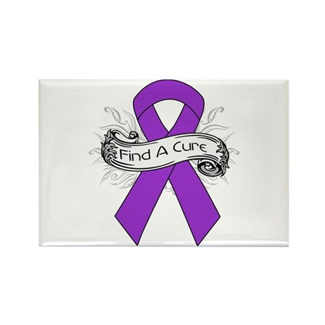 GIST Cancer Find A Cure Rectangle Magnet