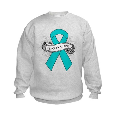 Gynecologic Cancer Find A Cure Kids Sweatshirt