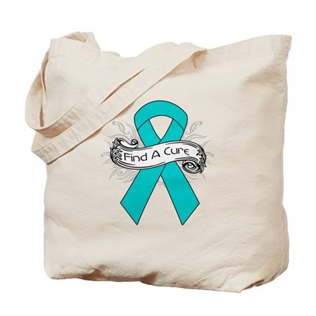 Gynecologic Cancer Find A Cure Tote Bag
