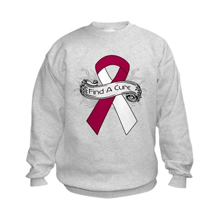 Head Neck Cancer Find A Cure Kids Sweatshirt