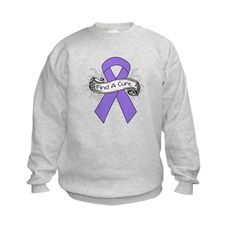 Hodgkins Lymphoma Find A Cure Kids Sweatshirt