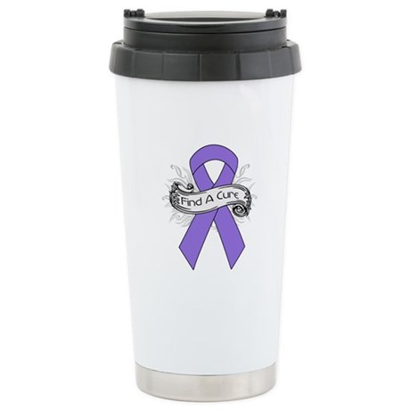 Hodgkins Lymphoma Find A Cure Ceramic Travel Mug