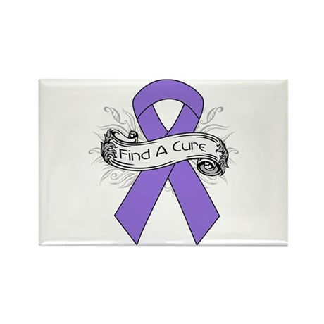 Hodgkins Lymphoma Find A Cure Rectangle Magnet