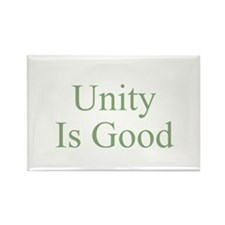 Unity Is Good Rectangle Magnet