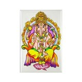 Ganesh Rectangle Magnet (10 pack)