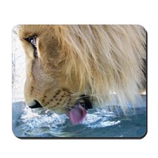 Drinking Lion Mousepad