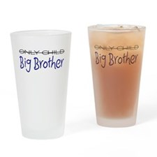 Cute Big brother to be Drinking Glass