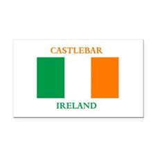 Castlebar Ireland Rectangle Car Magnet