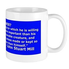 War Is Not the Answer- John Stuart Mill Mug