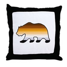 Throw Pillow - Leather Bear 2