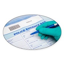 Police evidence bag - Decal