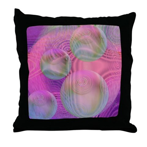 Inner Flow III Throw Pillow