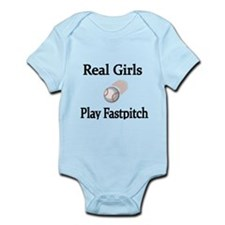 Real Girls Play Fastpitch Body Suit