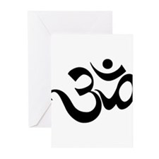 Funny Om Greeting Cards (Pk of 10)
