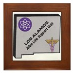 Los Alamos Alien Life Support Framed Tile