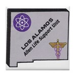 Los Alamos Alien Life Support Tile Coaster