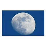 Waxing gibbous Moon - Decal