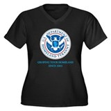 Department of Homeland Tyranny Plus Size T-Shirt