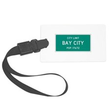 Bay City, Texas City Limits Luggage Tag