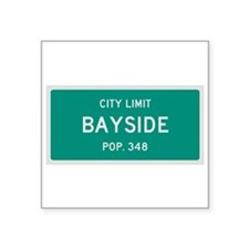 Bayside, Texas City Limits Sticker