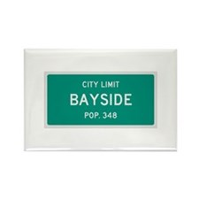 Bayside, Texas City Limits Rectangle Magnet